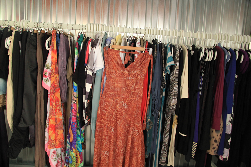 costume&dress storage